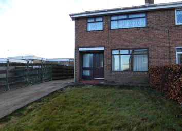 Thumbnail 3 bed semi-detached house for sale in Oval Park, Spennymoor