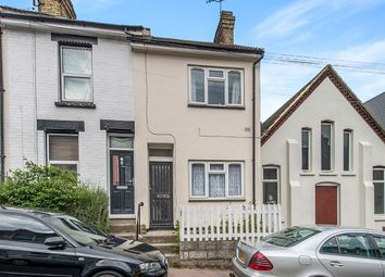 Thumbnail 2 bed terraced house to rent in Brompton Lane, Rochester