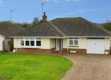 Thumbnail 3 bed detached bungalow for sale in Grasmere Road, Chestfield, Whitstable