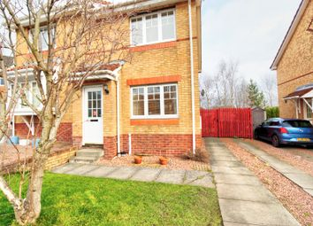 Thumbnail 2 bed semi-detached house for sale in Byrehope Road, Uphall, Broxburn
