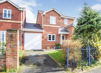 Thumbnail 3 bed link-detached house for sale in Rosemary Ednam Close, Hartshill, Stoke-On-Trent
