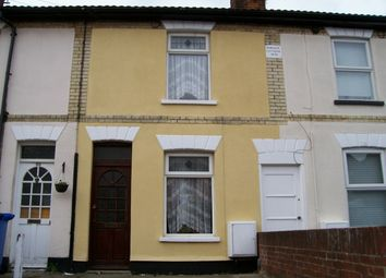 Thumbnail 2 bedroom terraced house to rent in Richmond Road, Ipswich