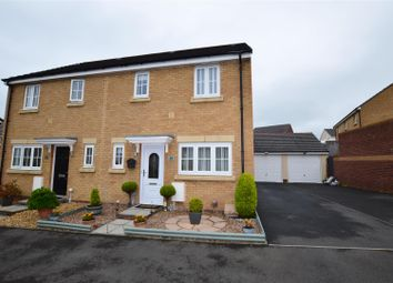 Thumbnail 3 bed semi-detached house for sale in Lonydd Glas, Llanharan, Pontyclun