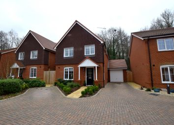 Thumbnail 3 bed detached house for sale in Cavesson Close, Church Crookham, Fleet