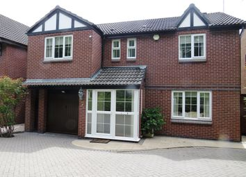 Thumbnail 4 bed detached house for sale in Pegwell Close, Sunnyhill, Derby