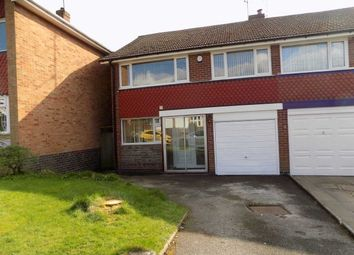 Thumbnail 4 bedroom semi-detached house for sale in Heather Road, Great Barr, Birmingham