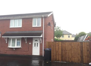 Thumbnail 3 bedroom semi-detached house for sale in Grange Close, Burton-On-Trent