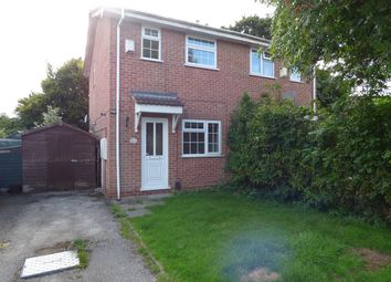 Thumbnail 2 bedroom semi-detached house to rent in Wolverley Grange, Alvaston, Derby