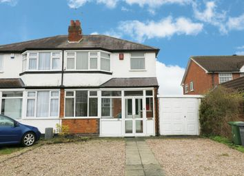 Thumbnail 3 bed semi-detached house for sale in Tanworth Lane, Shirley, Solihull