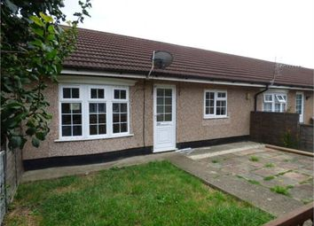 Thumbnail 2 bed terraced bungalow for sale in Hazel Grove, The Broadway, Minster On Sea, Minster, Kent