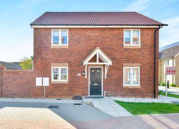 Thumbnail 3 bedroom detached house for sale in Brockhurst Close, Kents Hill, Milton Keynes