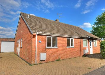 Thumbnail 2 bed semi-detached bungalow for sale in Lime Tree Close, Wymondham