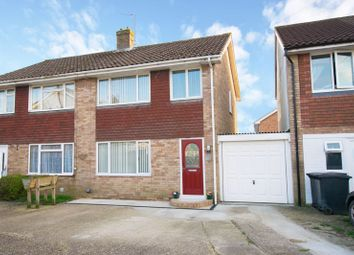 Thumbnail 3 bed semi-detached house for sale in Montacute Way, Uckfield