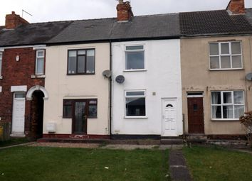Thumbnail 2 bed terraced house for sale in Chesterfield Road, Barlborough, Chesterfield