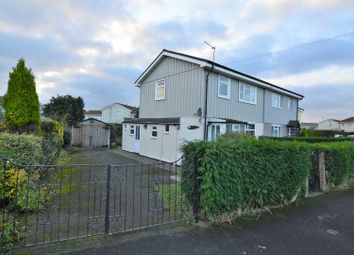 Thumbnail 3 bed semi-detached house for sale in Manor Road, East Leake, Loughborough