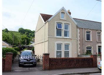 Thumbnail 4 bed end terrace house for sale in Beach Road, Penclawdd