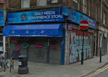 Thumbnail Retail premises for sale in Brick Lane, London
