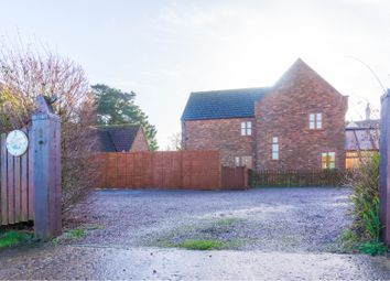 Thumbnail 4 bed detached house for sale in Whiteacre Gardens, Gedney, Spalding