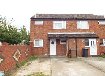 Thumbnail 3 bedroom end terrace house for sale in Peregrine Road, Luton, Bedfordshire, England