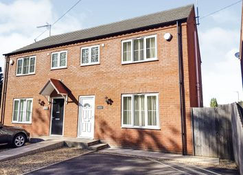 Thumbnail 3 bed semi-detached house for sale in Lynn Road, Walton Highway, Wisbech