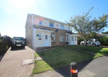 Thumbnail 3 bed semi-detached house for sale in Broompark Crescent, Airdrie, North Lanarkshire