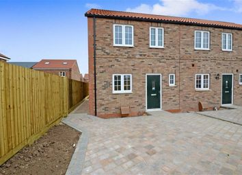 Thumbnail 3 bed end terrace house for sale in Chapel Street, Hambleton, Selby