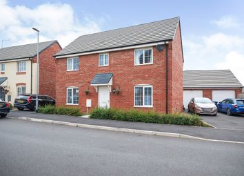 Thumbnail 4 bed detached house for sale in Damselfly Road, Northampton
