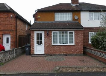 Thumbnail 3 bed semi-detached house for sale in Northfield Avenue, Birstall, Leicester, Leicestershire