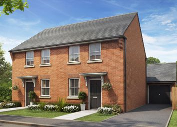 "Thumbnail 3 bed semi-detached house for sale in ""Arley"" at Callow Hill Way, Littleover, Derby"