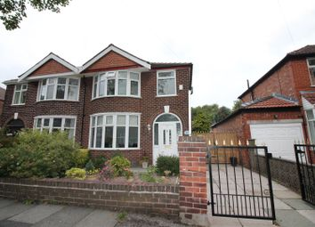 Thumbnail 3 bed semi-detached house for sale in Westminster Road, Urmston, Manchester