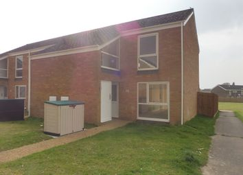 Thumbnail 2 bedroom end terrace house for sale in Chestnut Way, Raf Lakenheath, Brandon