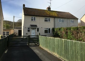 Thumbnail 3 bed semi-detached house to rent in Groessford, Llangynidr