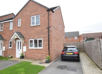 Thumbnail 3 bed end terrace house for sale in Linnet Garth, Scunthorpe