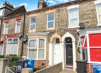 Thumbnail 3 bedroom terraced house for sale in Queens Road, Hull