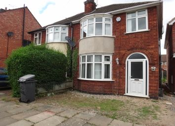 Thumbnail 3 bed semi-detached house for sale in Walcote Road, Rushey Mead, Leicester
