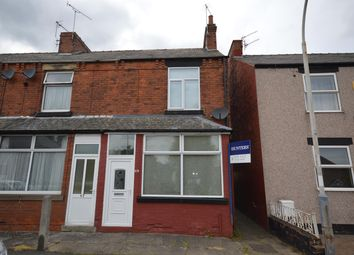 Thumbnail 2 bed end terrace house to rent in Calow Lane, Hasland, Chesterfield