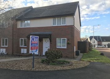 Thumbnail End terrace house to rent in Bron Afon Uchaf, Tircoed Forest Village, Penllergaer, Swansea, City And County Of Swansea.