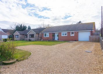 Thumbnail 3 bed detached bungalow for sale in St. Judiths Lane, Sawtry, Huntingdon