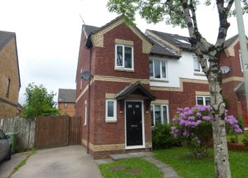 Thumbnail 3 bed semi-detached house for sale in Cwrt Y Garth, Beddau, Pontypridd