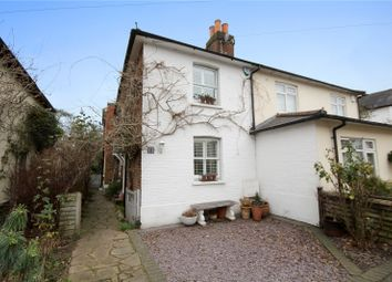 Thumbnail 3 bed semi-detached house for sale in Station Road, Chertsey, Surrey
