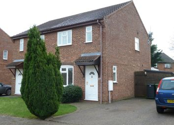 Thumbnail 3 bedroom semi-detached house to rent in Suffield Close, Long Stratton, Norwich