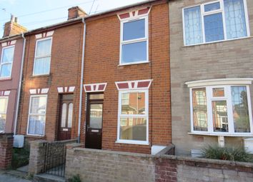 Thumbnail 3 bed terraced house to rent in Oxford Road, Lowestoft
