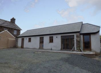 Thumbnail 2 bed barn conversion for sale in Chillaton, Lifton