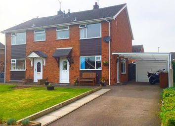 Thumbnail 3 bed semi-detached house for sale in Beverley Drive, Stafford