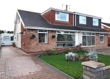 Thumbnail 3 bed semi-detached bungalow for sale in Glynstell Road, Nottage, Porthcawl