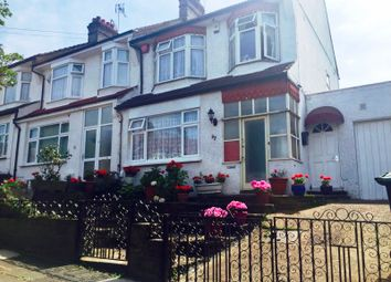 Thumbnail 3 bed end terrace house to rent in Evesham Road, London