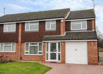 Thumbnail 4 bed semi-detached house to rent in Rowland Way, Aylesbury