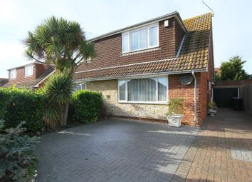Thumbnail 2 bed semi-detached house for sale in Russell Drive, Whitstable