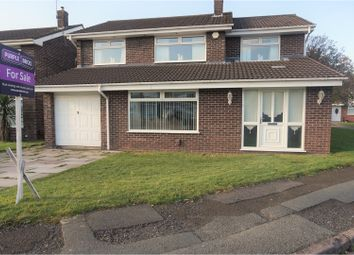 Thumbnail 4 bed detached house for sale in Greenodd Avenue, Liverpool