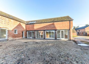 Thumbnail 4 bedroom barn conversion for sale in Swan Farm Lane, Audlem Road, Woore, Crewe